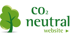 We have a Co2-neutral website