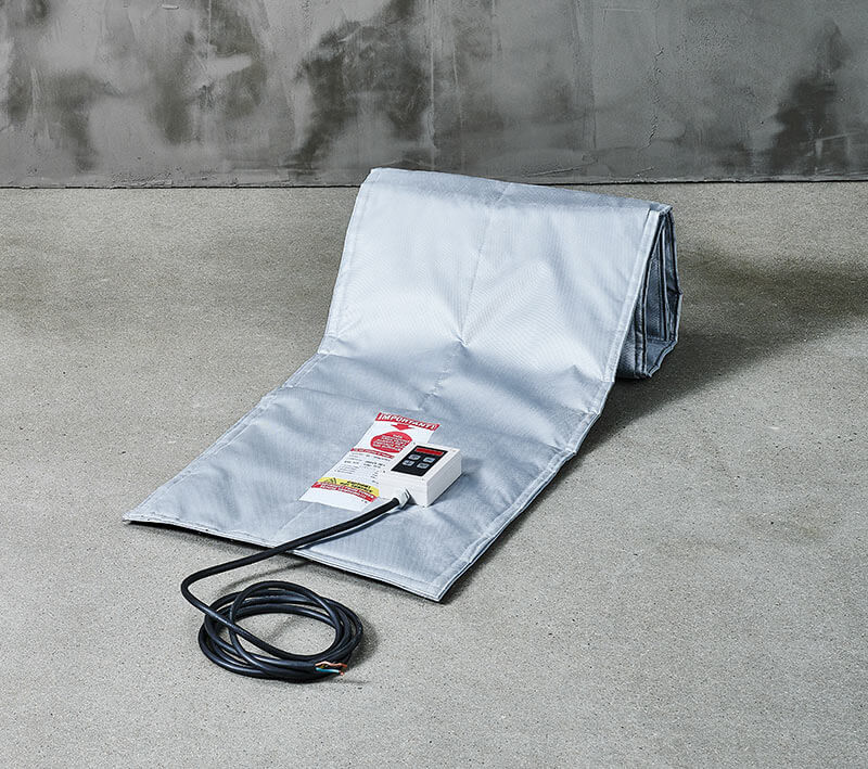 get customized heating blankets for curing epoxy